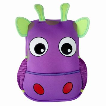 Toddler Kids backpacks Kindergarten cow ,butterfly,elephant small shoulder bag for baby girl and boy school rucksack