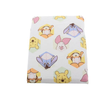Disney Baby Peeking Pooh Cartoon Nursery Crib Sheet