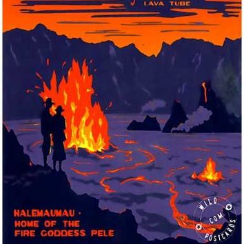 Hawaii Volcanoes National Park Poster 11x17