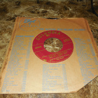 Vintage 45 Vinyl Record Mitch Miller and His Orchestra - Song For A Summer Night - Instrumental and Vocal Versions