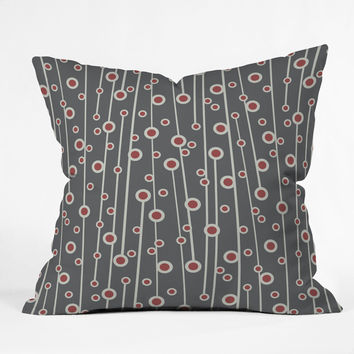 Heather Dutton Berry Branch Throw Pillow
