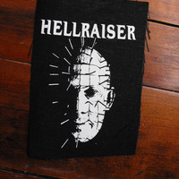HELLRAISER patch horror movie pinhead Free Shipping