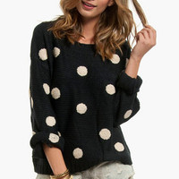 Penny for Your Dots Sweater $42