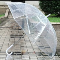 Regular clear umbrella