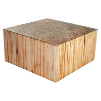 Cave Coffee Table Teak Wood