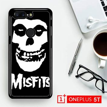 Horror Punk Rock Band Misfits Skull Z0506  OnePLus 5T / One Plus 5T Case
