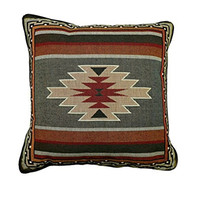 Southwest Sampler Red and Green Pillow