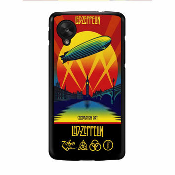 Led Zeppelin Poster Nexus 5 Case