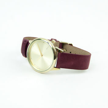 Estelle Classic Burgundy Watch