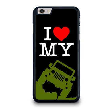 I LOVE MY JEEP iPhone 6 / 6S Plus Case Cover