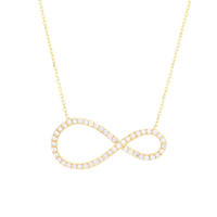 Large Infinity Necklace