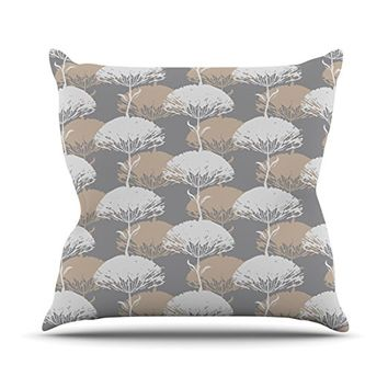 Kess InHouse Julia Grifol 'Charming Tree' Throw Pillow, 20 by 20-Inch