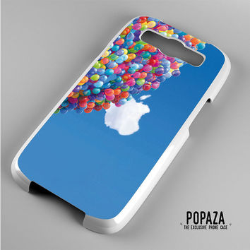 up apple with ballons Samsung Galaxy S3 Case