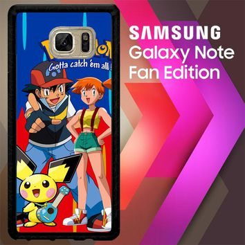 All Pokemon Considered Gotta D0188 Samsung Galaxy Note FE Fan Edition Case