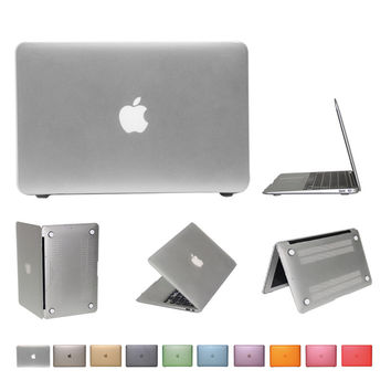 PC hard case for apple Mac book air 11 inch no retina Matte Rubberized Cover +US keyboard Protector