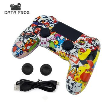 For Sony PS4 Wireless Bluetooth Gamepads Custom Bomb Game Controller For Playstation 4 Console Dualshock 4 Joystick Gamepads