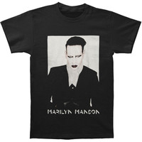 Marilyn Manson Men's  Proper 2015 Tour T-shirt Black Rockabilia