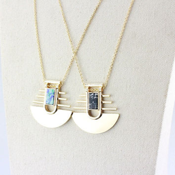 Gift Stylish Shiny New Arrival Jewelry Fashion Accessory Ladies Turquoise Pendant Sweater Chain Necklace [4956892932]