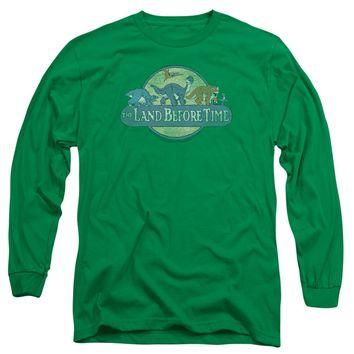 Land Before Time - Retro Logo Long Sleeve Adult 18/1