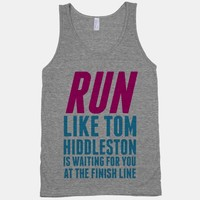 Run Like Tom Hiddleston Is Waiting | HUMAN