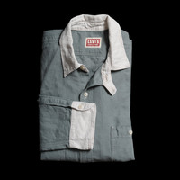 Levi's Vintage Clothing - Work Shirt in Goblin Blue