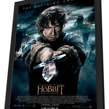 The Hobbit: The Battle of the Five Armies 27x40 Framed Movie Poster (2014)