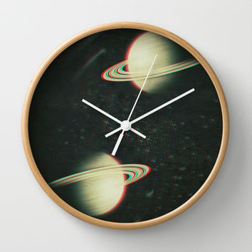 The Twins Wall Clock by DuckyB (Brandi)