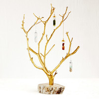 Gilded Branches Jewelry Tree | jewelry hanger