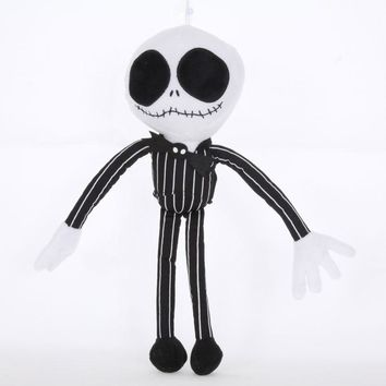 The nightmare before christmas classic Jack plush doll.28cm Stuffed Jack soft toy d11
