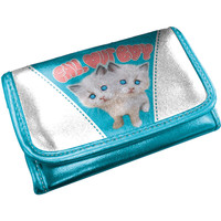 Fall Out Boy Women's Girls Wallet Blue