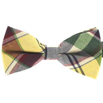 Tok Tok Designs Pre-Tied Bow Tie for Men & Teenagers (B393, 100% Cotton)