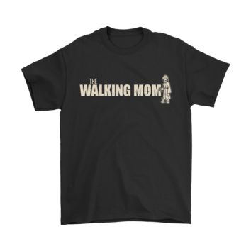 CREY8HB The Walking Mom The Walking Dead Parody Shirts