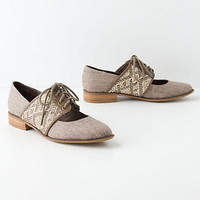 Esther Woven Oxfords