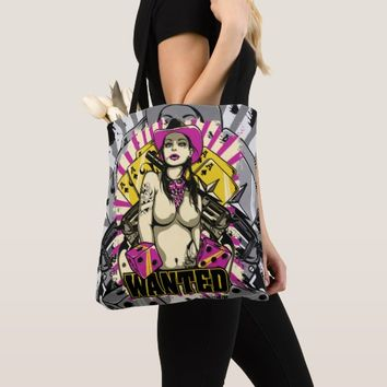 Wanted - Dangerous Sexy Girl Tote Bag