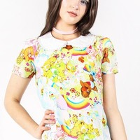 Iron Fist Care Bears Spring Fling Girly Top