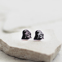 Darth Vader Earring Studs