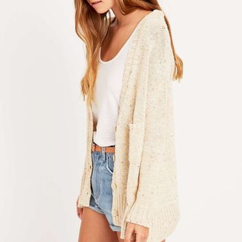 BDG Casual Button Cardigan Jumper - Urban Outfitters