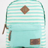 Dickies Striped Canvas Backpack Mint One Size For Women 26663652301