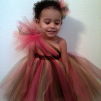 One Shoulder Tutu Dress (NB-5T)