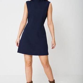 Sheath Dress in Navy Ex-Branded