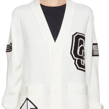 Off-White OC Varsity Cardigan