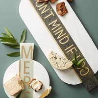 Festive Marble Cheese Board