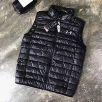 ONETOW Under Armour Woman Men Fashion Eiderdown Coat Vest Top Cardigan Jacket