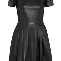Iris & Ink Leather dress – 0% at THE OUTNET.COM