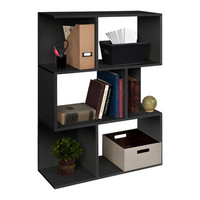 Way Basics Way Basics Eco Madison Bookcase, Room Divider & Storage Shelf
