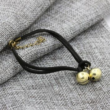 ESBONG New Arrival Stylish Sexy Cute Shiny Jewelry Ladies Gift Korean Handcrafts Couple Bracelet Birthday Bells Hot Sale Anklet [10417791060]