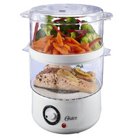 Oster Double-Tiered Food Steamer - White