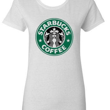 Starbucks Coffee Logo Adult T-Shirt - Many Color Choices