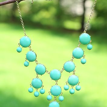 Join The Crew Petite Necklace in Mint