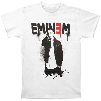 Eminem Men's  Sprayed Up T-shirt White